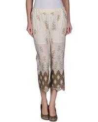 Patrizia Pepe 3/4-Length Trousers - Lyst