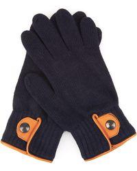 Oliver Spencer - Leather-trim Wool-blend Gloves - Lyst