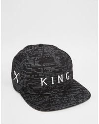 King Apparel - Matrix Snapback Cap - Lyst