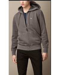 Burberry Double-dyed Cotton Hooded Top - Lyst