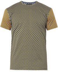 Jonathan Saunders Hazard Print Tshirt - Lyst