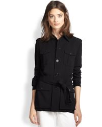 Ralph Lauren Black Label Crawford Belted Safari Jacket - Lyst