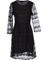 Cutie Black Short Dress - Lyst