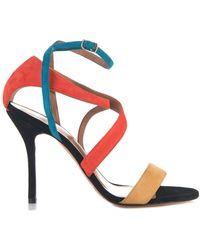 Sophie Theallet - Rita Multi-Cross Suede Sandals - Lyst