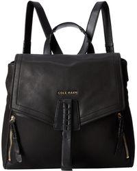 Cole Haan Black Felicity Backpack - Lyst
