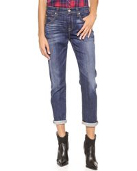 7 For All Mankind Relaxed Skinny Jeans - Lyst