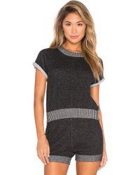 Kathryn Mccarron - Lou Short Sleeve Sweater - Lyst