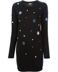 Markus Lupfer Emma Sweater Dress - Lyst