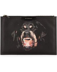 Givenchy Antigona Large Rottweiler Pouch - Lyst