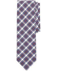Brooks Brothers Tartan Slim Tie - Lyst