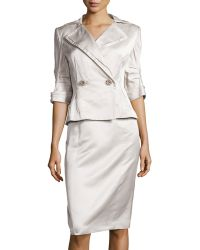 Carolina Herrera Silk Classics 2-piece Suit - Lyst