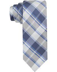 CALVIN KLEIN 205W39NYC - Plaid Skinny Tie - Lyst