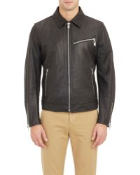 Marc By Marc Jacobs - Brennan Motorcycle Jacket-Black Size L - Lyst