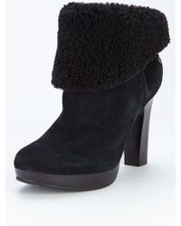 Ugg Dandylion Ii Shearling Ankle Boots - Lyst