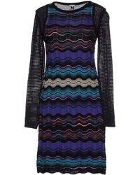 M Missoni Zig Zag Knit Dress - Lyst