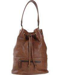 Abaco - Drawstring Leather Bucket Bag - Lyst