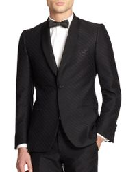 Billy Reid Fox Jacquard Jacket - Lyst