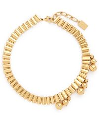 Ela Stone - 'barbara' Sphere Watch Chain Collar Necklace - Lyst
