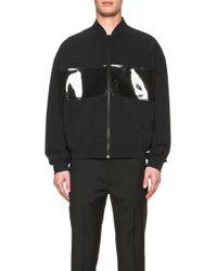 Calvin Klein Men'S Heitis Euro Jersey With Pvc Bomber - Lyst