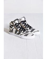 Supra - Cuttler Textile Mid-Top Sneaker - Lyst