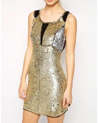Dress Gallery Palace Sequin Dress - Lyst