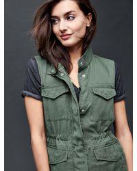 Gap Tencel®utility Vest - Green