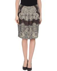 Etro Knee Length Skirt - Lyst