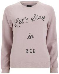 Love Stories - Women'S Mick J Pyjama Top - Lyst