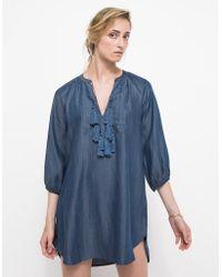 Linda Farrow Madura Dress blue - Lyst