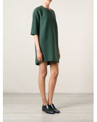 Marni Green Shift Dress - Lyst