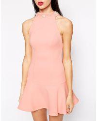 Ukulele - Faux Pearl Embellished Dress - Lyst