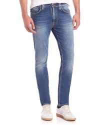 Nudie Jeans   Lean Dean Straight-leg Jeans   Lyst
