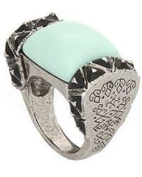Rose Pierre - Treasure Chest Ring - Lyst