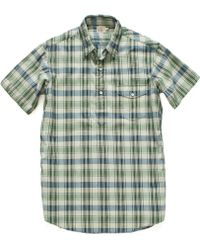Faherty Brand Ss Surf Pullover Shirt - Lyst