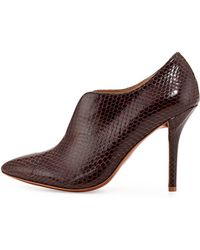 Vince Camuto Signature Carolena Snake-embossed Leather Pump - Multicolour