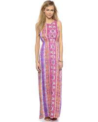 MINKPINK Magenta Carpet Maxi Dress - Multi - Lyst