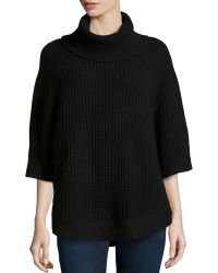 Michael Kors Chunky-knit Turtleneck - Lyst