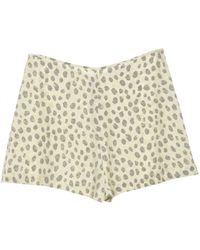 Equipment - Bleached Sand Lewis Shorts - Lyst