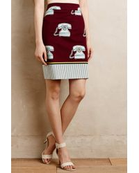 Maeve Clementina Pencil Skirt - Lyst