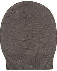 Rick Owens Wool Beanie - For Women - Brown