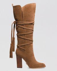 Michael Kors Tall Platform Boots  Jessa High Heel - Lyst