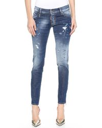 DSquared2 Super Slim Jeans - Blue - Lyst