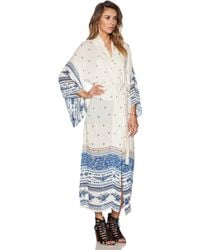 Spell & The Gypsy Collective - Thunderbird Maxi Kimono - Lyst