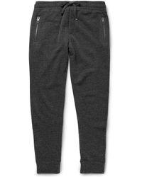 Dolce & Gabbana Knitted Wool Sweatpants - Lyst