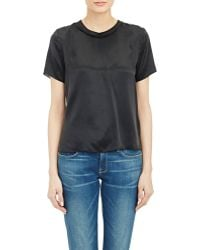 Boy by Band of Outsiders Satin Ringer T-shirt