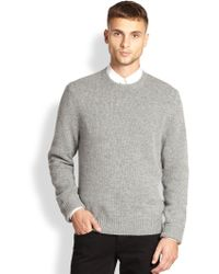Acne Studios Crewneck Sweater - Lyst