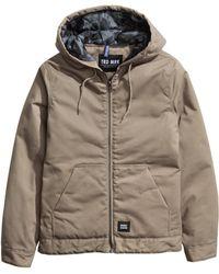 H&M | Twill Jacket | Lyst