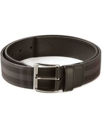 Burberry Haymarket Check Belt - Lyst