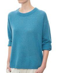 Mason by Michelle Mason Open Back Sweater blue - Lyst