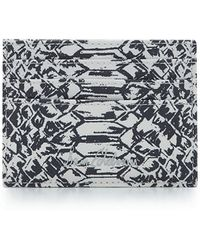 Sam Edelman - Embossed Card Case - Lyst